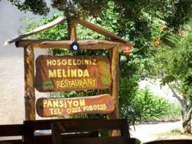 Melinda Pansiyon Restaurant Hosgeldiniz